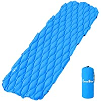 eocusun Sleeping Pad inflatablelightweight超軽量コンパクト快適な防水Air mattresscamping Mafor Campバックパッキング、旅行、ハイキング、スカウト、