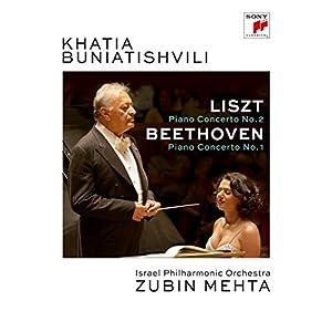 Liszt & Beethoven: Piano Concertos [DVD] [Import]