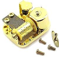 18ノート 機械 ワインドアップ 時計仕掛け オルゴール 動き DIY 宝石箱 音楽ボックス 贈り物 - エルフェンリート