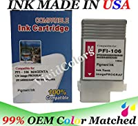 PFI106 PFI105 互換 マゼンタ インクカートリッジ IPF6400se IPF6400s IPF6400 IPF6450用