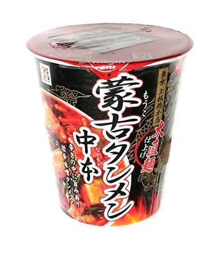 日清 蒙古タンメン中本 太直麺仕上げ 118g x    6 個
