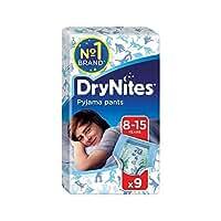 1パック男の子9用の8-15年のDrynites (Huggies) - Huggies 8-15 years DryNites for Boys 9 per pack [並行輸入品]
