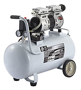 高儀 EARTH MAN エアーコンプレッサー オイルレス 静音タイプ 39L ACP-39SLA
