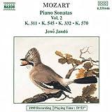 Mozart: Piano Sonatas Vol. 2, K311, K545, K332, K570 by Mozart (1992-07-17)