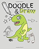 DOODLE & DRAW: Blank sketchbook for kids to draw in
