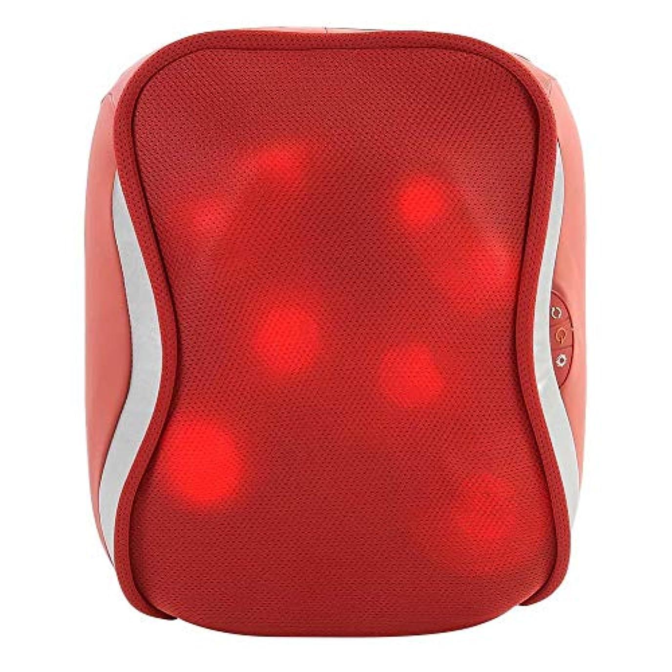 トレーニング偏心芽指圧バックマッサージ、多機能ボディチェアシートクッション、腰、肩、筋肉痛ホーム、オフィス、車、ベッド用