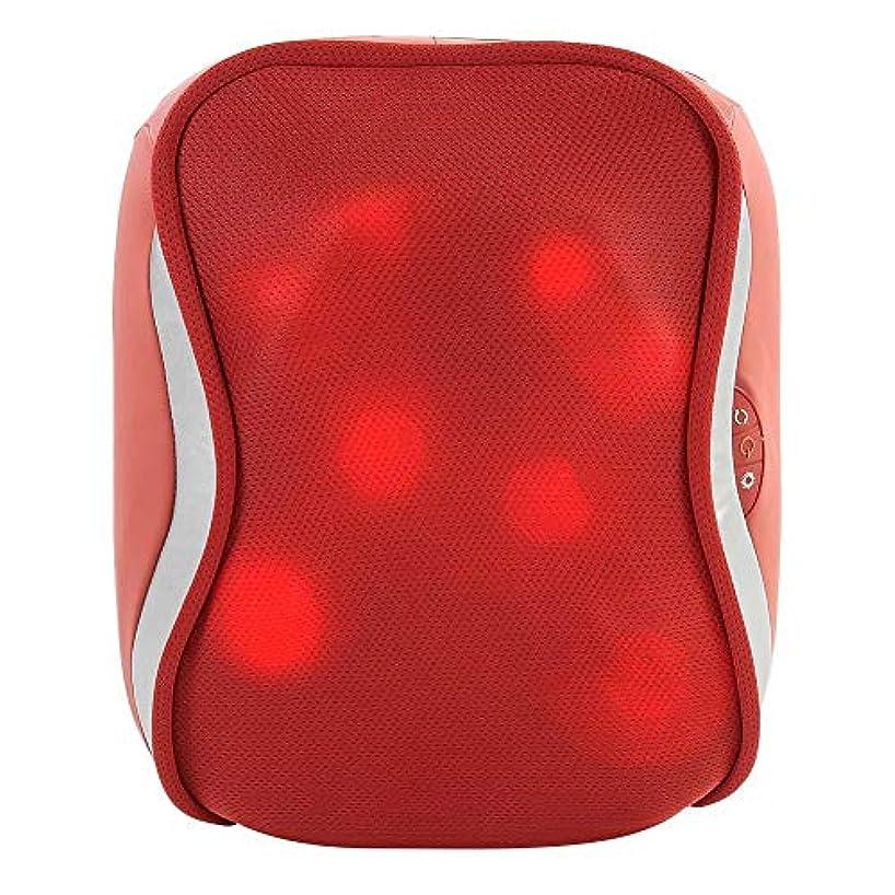 ペンス共和国ナンセンス指圧バックマッサージ、多機能ボディチェアシートクッション、腰、肩、筋肉痛ホーム、オフィス、車、ベッド用