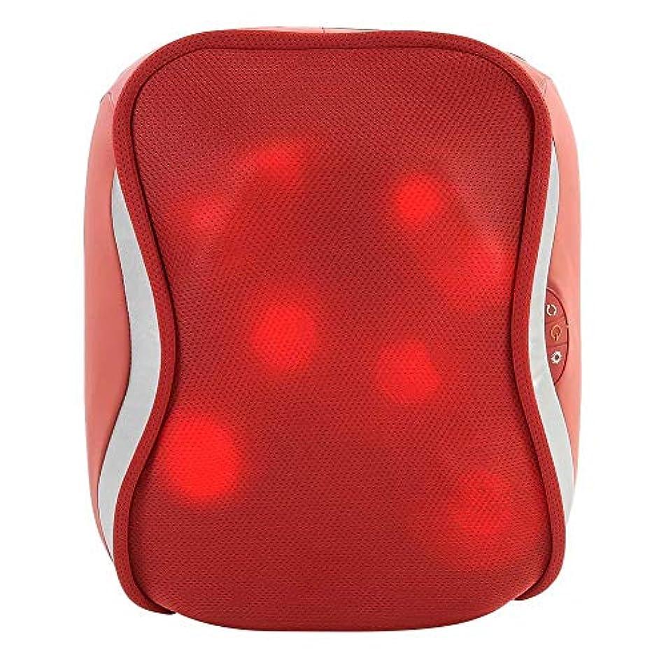 する自分のローズ指圧バックマッサージ、多機能ボディチェアシートクッション、腰、肩、筋肉痛ホーム、オフィス、車、ベッド用