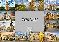 Torgau Impressionen (Wandkalender 2019 DIN A4 quer): Torgau, grosse Kreisstadt an der Elbe (Monatskalender, 14 Seiten )