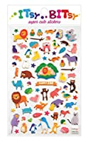Happy Zoo Stickers by Itsy Bitsy [並行輸入品]