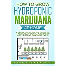 How to Grow Hydroponic Marijuana At Home: A Complete Guide to Growing Most Potent Cannabis Ever!