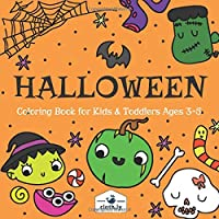 Halloween Coloring Book for Kids & Toddlers Ages 3-5: Halloween Painting Book for Boys & Girls Ages 3,4 and 5 | Preeschooler Halloween Coloring Book Ghost, Vampire, Pumpkins & more