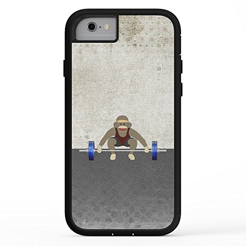 Society6 Sock Monkey Bodybuilder Adventure Case iPhone 7