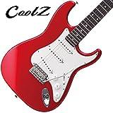クールZ CoolZ エレキギター STタイプ ZST-M10R CAR ( ZSTM10R ) 【ミディアムスケール】