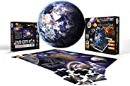 AR Solar system planet 3D Jigsaw puzzle (Augmented Reality with free mobile app) - 48 pieces set for kids and