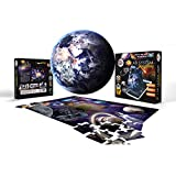 AR Solar system Astronaut 3D Jigsaw puzzle (Augmented Reality with free mobile app) - 48 pieces - Educational toy - Family fr