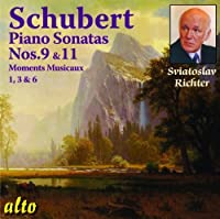Schubert: Piano Sonatas Nos. 9 And 11/Moments Musicaux 1, 3 And 6 by Sviatoslav Richter (2011-06-14)