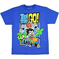 Teen Titans GO! Boys' Trio T-Shirt