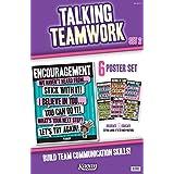 Kagan Cooperative Learning Talking Teamwork Poster Set 2 (6 Posters) (PKTT2)