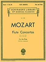 Flute Concertos (Woodwind Solo) No. 1802 by Wolfgang Amadeus Mozart(1986-11-01)