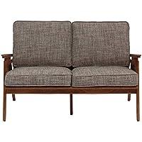 【ジャーナルスタンダード ファニチャー正規品】アクメ ファニチャー ソファ ブラウン 2シーター ウィッカーソファ WICKER SOFA_2P ACME Furniture