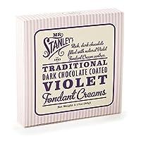 ミスター・スタンレーの紫色のフォンダンクリームの90グラム (x 2) - Mr Stanley's Violet Fondant Creams 90g (Pack of 2) [並行輸入品]