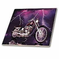 タイル& # 174; picturing Harley - Davidson Motorcycle 6-Inch-Ceramic ct_8332_2