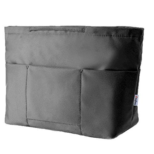 baginbagバッグインバッグインナーバッグ収納バッグ収納力抜群4タイプ選択可能 色ブラックとカーキ (A-L型 黒)