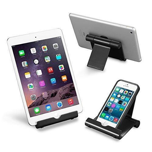MIFO タブレット/スマートフォン用 スタンド iPhone/iPad/タブレット/スマホなどに対応 170°角度調整可能 プラスティック HR-HWOWTS15 (ブラック)