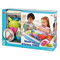 PlayGo Wash-up Kitchen Sink for Ages 3 & up