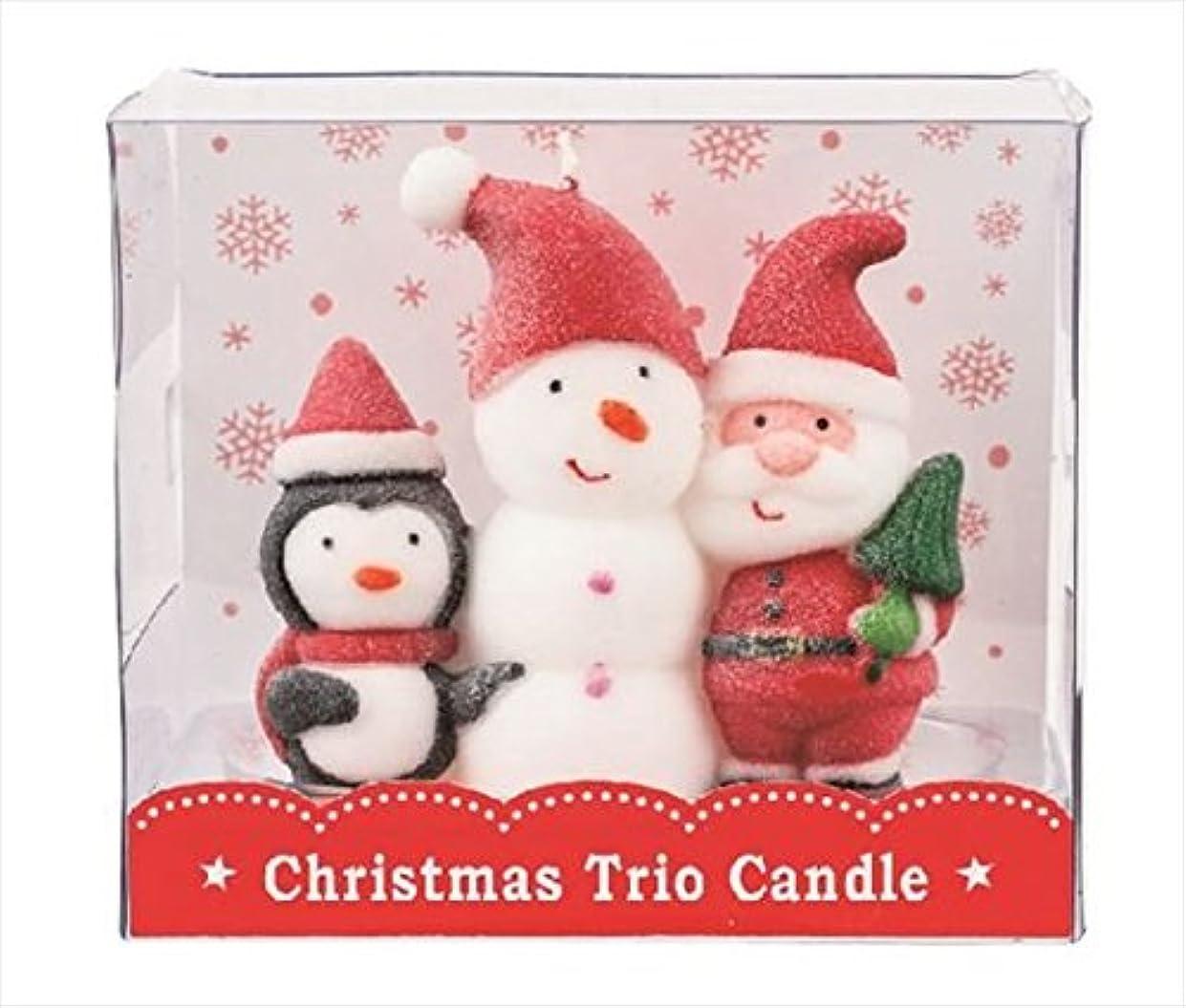 スクリーチ花火仕立て屋kameyama candle(カメヤマキャンドル) クリスマストリオキャンドル 「 スノーマン 」(A3220010)