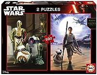 Star Wars: Ep VII The Force Awakens Disney puzzle 2x500pz / スターウォーズ:フォース目覚めEpのVIIディズニーパズル2x500pz
