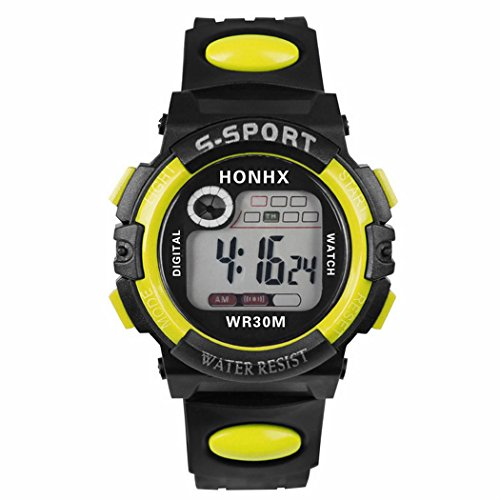 [해외]스포츠 키즈 야광 방수 5 색 들어가 다기능 초 싼 시계 패션 스포츠 시계 달리기 시계 LED 디지털 캐주얼 시계 어린이 시계 알람/Sports Watch Key Keys Waterproof Waterproof 5 Colors Multi Function Super Cheap Watch Fashion Sports Wrist Wat...