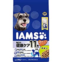 アイムス (IAMS) ドッグフード 11歳以上用 毎日の健康ケア 小粒 チキン シニア犬用 2.6kg