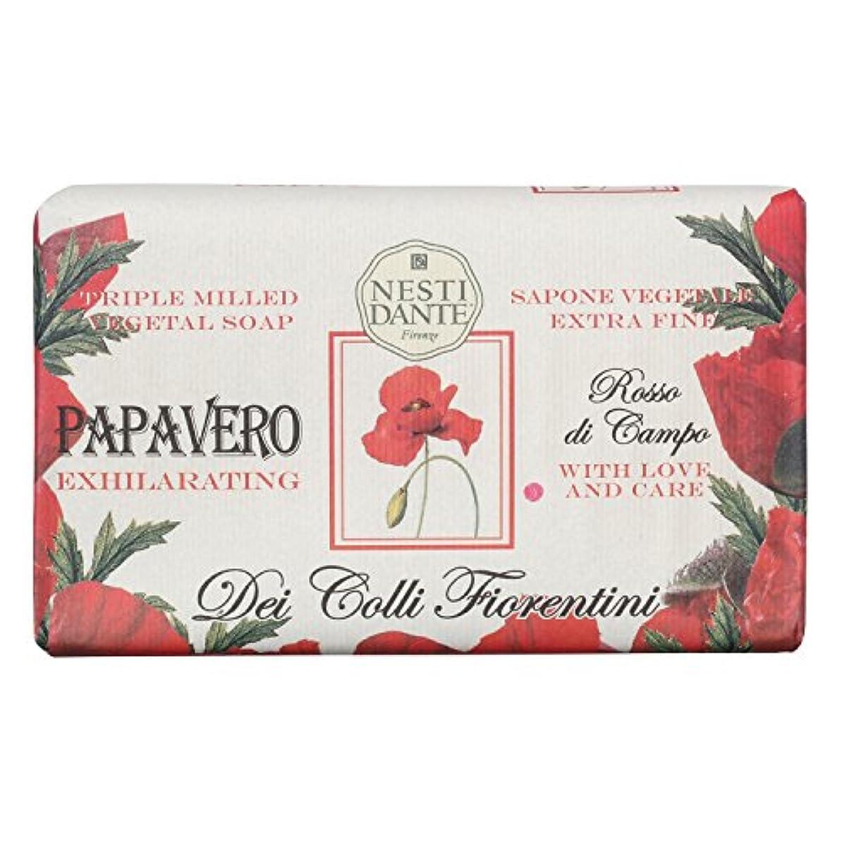 蜜脆い経験的Nesti Dante ネスティダンテ フィオレンティーニソープ ポピー 250g