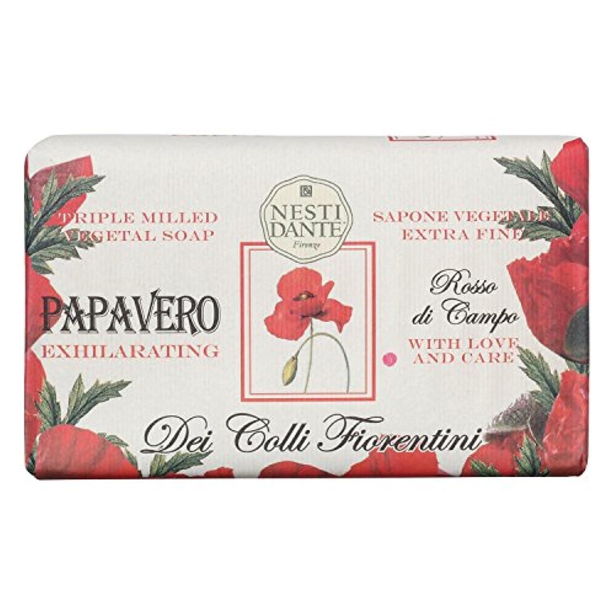 選択豆棚Nesti Dante ネスティダンテ フィオレンティーニソープ ポピー 250g