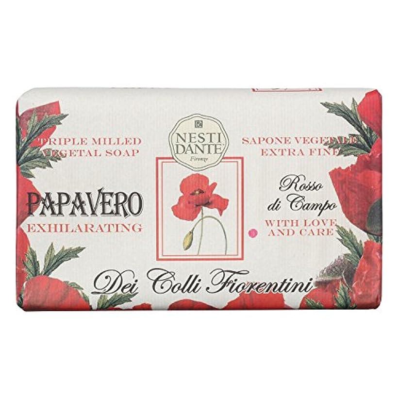 Nesti Dante ネスティダンテ フィオレンティーニソープ ポピー 250g