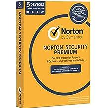 Norton Security Premium 3.0 OEM (25GB, 5-Device, 1 Year)