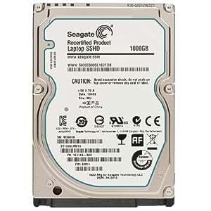 Seagate SSHD 2.5inch SATA 6Gb/s 1TB 64MB 5400rpm SSD(8GB MLC)+HDDハイブリッド(9.5mm) ST1000LM014 Recertified