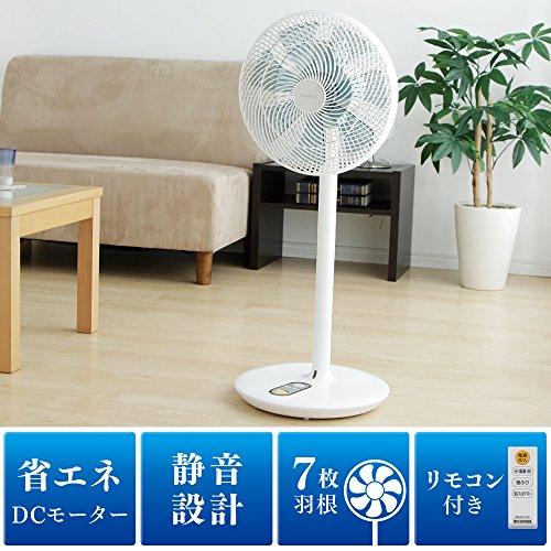 アイリスオーヤマ扇風機DCモーターリモコン付きコンパクト収納LFDC-301H