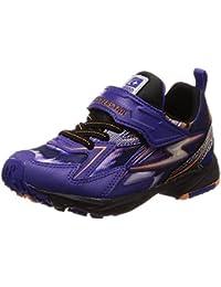 [スーパースター] 運動靴 通学履き バネ バネのチカラ 男の子 イナズマ 軽量 マジック ゆったり SS K815