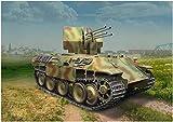 ドラゴン 1/35 第二次世界大戦 ドイツ軍 パンターD型 対空戦車 第653重戦車大隊 プラモデル DR6899