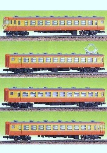 Nゲージ 434A 国鉄155系基本4輌セット (未塗装車体キット)
