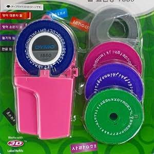 ダイモ コーリアテープライター ピンク