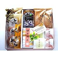 夢や 敬老の日ギフト 梅こぶ茶と和菓子11個入り keiro-ukmix (昆布茶)