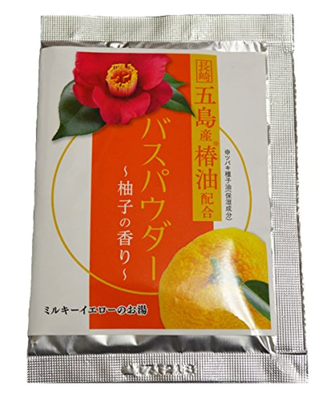 ペニーパワーボックス椿油の入浴剤(バスパウダー) 35g×4袋