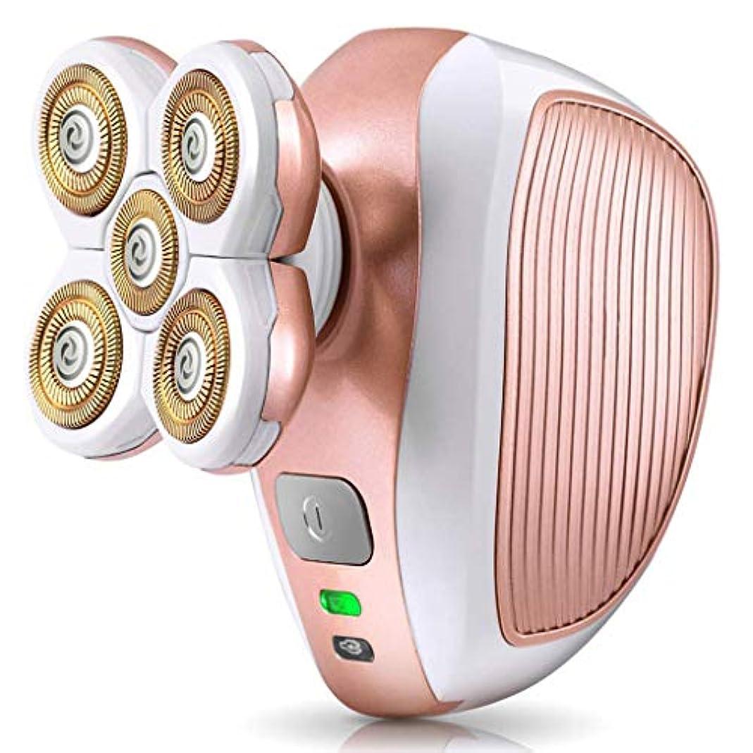女性と男性のための痛みのないボディヘアリムーバー - USB充電式防水インスタントヘアリムーバー - 脚の顔の唇ボディ脇の下脇…