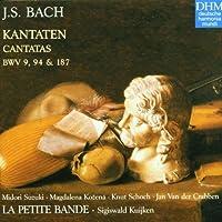 Bach: Cantatas BWV 9, 94 & 187 /La Petite Bande * S Kuijken