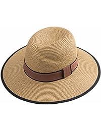 ymfieメンズandレディース夏Broadエッジレジャーファッションアウトドア太陽保護ビーチ帽子Fisherman Hat Sun HatストローHat