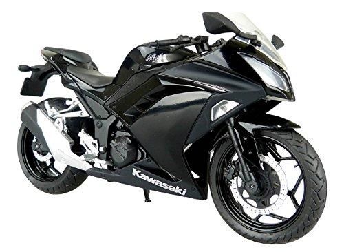 RoomClip商品情報 - スカイネット 1/12 完成品バイク kawasaki Ninja250 ブラック